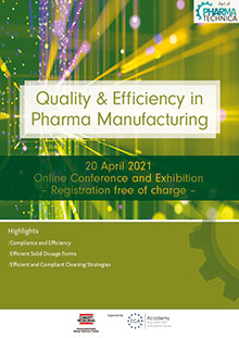 Quality & Efficiency in Pharma Manufacturing 2021